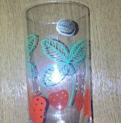 склянки богема 6штук і графин