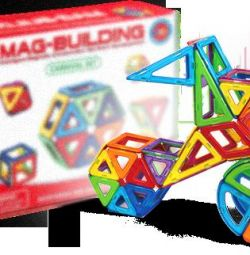 Magnetic constructor Mag Building 20 parts.