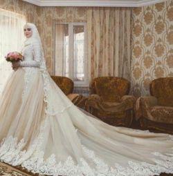 Свадебные платья для покрытых,под хиджаб, закрытые
