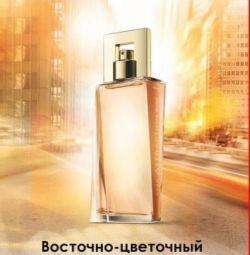 Kadın parfümeri su cazibe avon acele