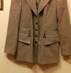 Takım elbise (ceket ve sarafan)