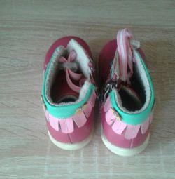 Boots demi-season 12 size