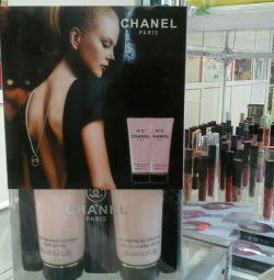 Set de Chanel №5 200ml Loțiune de corp + 200ml de duș