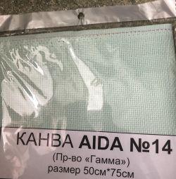Канва ГАММА Aida 14 К04