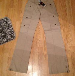 Спортивные джинсы размер М