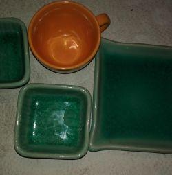 коплект посуды