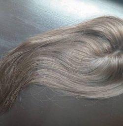 Hair on tresses