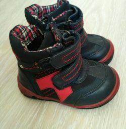 20 μπότες μεγέθους για ένα χρόνο