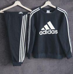 Costum negru Adidas