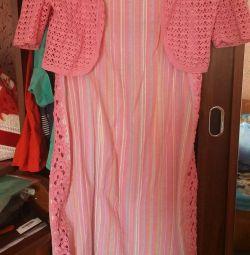 Summer costume (sarafan and bolero)