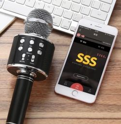 Karaoke kablosuz mikrofon