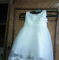 Κομψό φόρεμα για 1-2 χρόνια