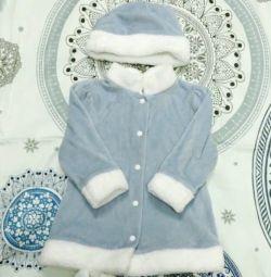 Costumul de Anul Nou al Snow Maiden