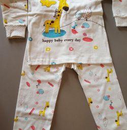 Pajamas. New.
