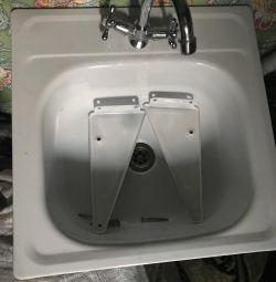 Sink + mixer + siphon