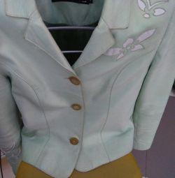 Куртка, можна носити як піджак, дуже красиво огляд