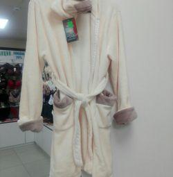 Теплый халат