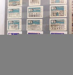 сірникові етикетки з 1958 р до 1990 р