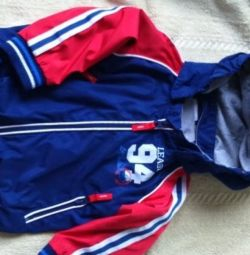 Windbreaker for boy height 74 cm