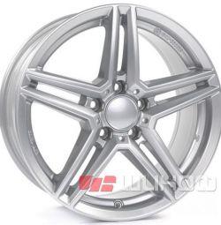 Колесные диски Alutec M10 8x18 PCD 5x112 ET 48 DIA 66.5 Polar Silver