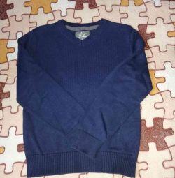 Pulover nou bleumarin albastru p.110 / 116
