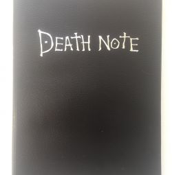 Death Note (original by cartoon)