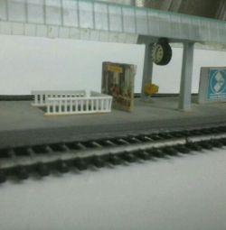 Căile ferate, TT Berliner Bahnen 12mm, GDR 80s
