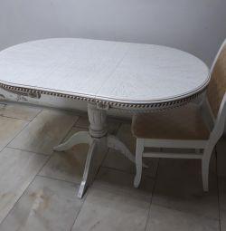 Tabelul Est-1 Patină albă ovală