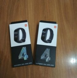 New, analogue of the fitness bracelet M4
