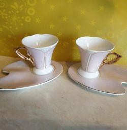 Кофейный набор, кофейная пара