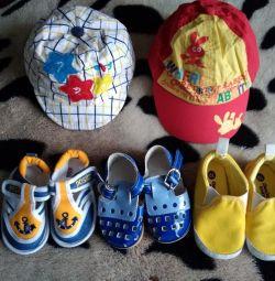 Primele pantofi de vară