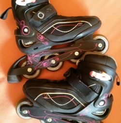 Roller skates Wives Oxelo Fit3, pp 39,5 with protection