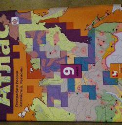 Atlases grade 7, grade 9
