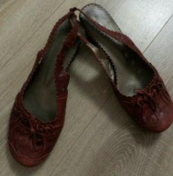 Sandale din piele, soluție 39-40