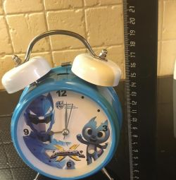 Часы будильник детские