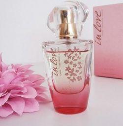 Perfumery water In Love avon NEW