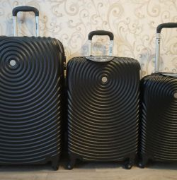 New chic suitcases. M, L