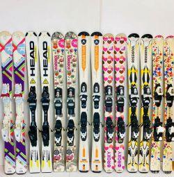 Skiing 120 cm for children