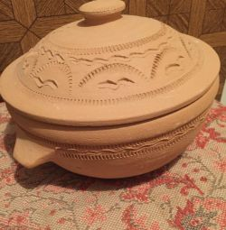 Глиняная кастрюля