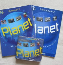 Учебники с дисками, Planet и Genial, нем.яз, 9 кл