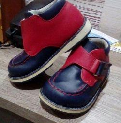 Boots (din piele naturală)