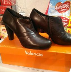 New leather shoes Spain