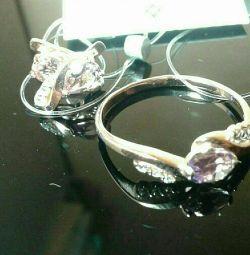 Prenses Monif yaldızlı gümüş set