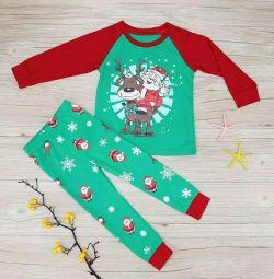 Новогодний комплект /пижама (2-3-4 года )