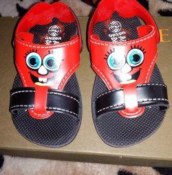 Sandale noi - șisturi