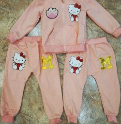 Tracksuits for the girl