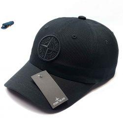 Baseball cap Stone Island (black / h)
