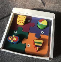 Wooden Elephants Puzzles