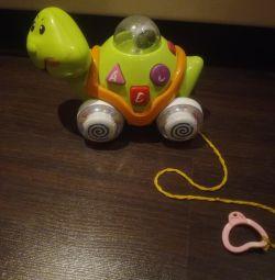 Іграшка музична черепаха