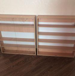 2 shelves for the store